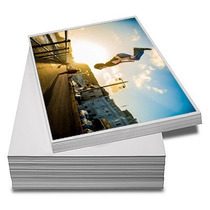 500 Folhas Papel Glossy Fotográfico À Prova D´água 230gr A4