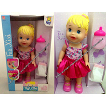 Boneca Baby My Little Collection Alive Faz Xixi - Divertoys