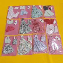 Kit C/ 50 Roupinhas Roupas Para Boneca Barbie Frozen  Oferta