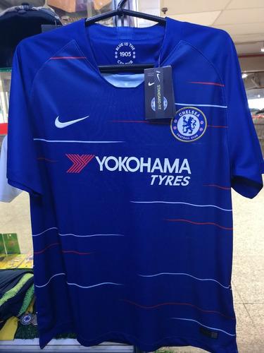 Camisa Chelsea Home 18 19 Novas A Pronta Entrega. R  130 721cd163676e7