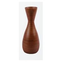 Vaso Core Bamboo 40 Cm Chocolate. Vaso Decorativo De Bambu