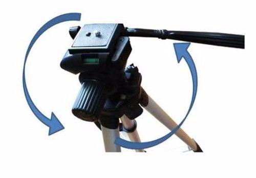 Tripé Celular Profissional Sl-2111 Gopro 1,30 M + Kit Selfie
