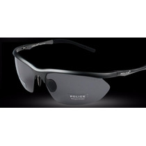 Óculos Marca Police Masculino Lentes Polarizadas 100%uva Uvb