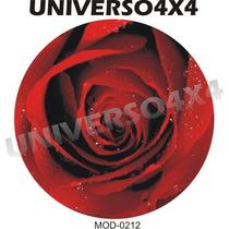 Capa Estepe Ecosport, Crossfox, Spin, Flor, Rosa, M-0212