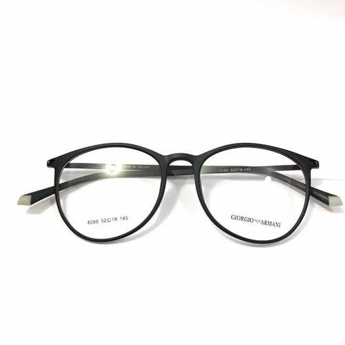 9d308073dc6ff Armação Oculos Grau Preto Masculino Rêtro Promocao
