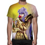 Camisa, Camiseta Cavaleiros Do Zodíaco Afrodite De Peixes