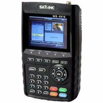 Localizador De Satélite Antena Satlink Ws6916 Dvbs2 Hd