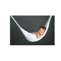 Rede De Crochê Para Newborn - Fotografia De Bebês Props