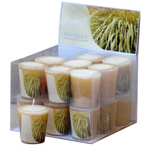 Velas Decorativas Rechaud - Display Com 18 Velas - Baunilha