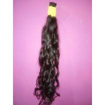 Cabelo Humano Natural P/mega Hair Leve Ondas 70 Cm 150 Grama