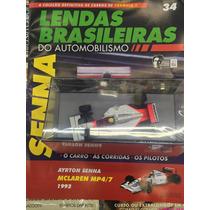 Coleção Lendas Brasileiras Do Automobilismo Senna Ed.34