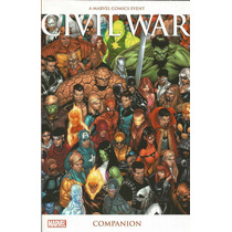 Civil War Companion - Marvel - Gibiteria Bonellihq Cx392