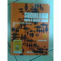 Livro Sociologia - Volume Unico - Nelson Dacio Tomazzi