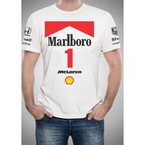 Camisa F1 Mclaren Ayrton Senna Anos 80 - Fórmula 1