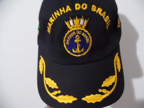 0850e85d15735 Boné   Chapéu Marinha Brasil   Eb Original Oficial Unico Ml. R  39.9
