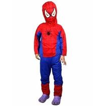 Fantasia Do Homem Aranha Infantil Festa Criança Frete Grátis