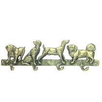 Porta Chaves Cachorrinhos Cães Cabide De Banheiros