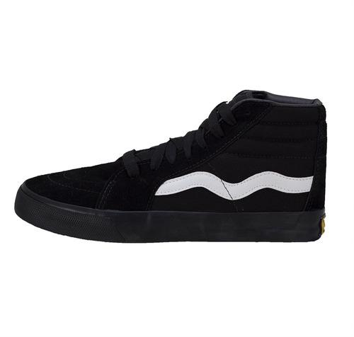 01d1d915eb6 Tênis Dança Sneakers Mad Rats Hi Top Preto Skate Cano Alto