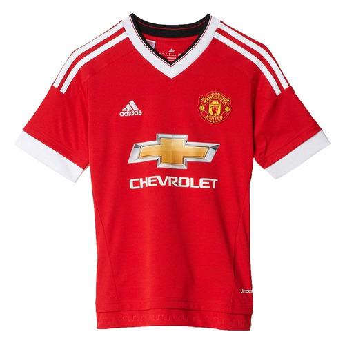 Camisa adidas Manchester United Infantil Home Tam. M bbdb02cd69cd6