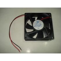 Cooler - Ventilador - 12 Volts - 80 Mm X 80 Mm