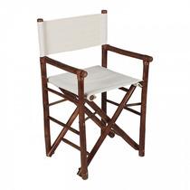 Cadeira Diretor Bambu Marrom - Acasa