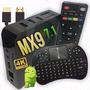 Aparelho Trasnformar Em Smart Tv  Mx9 4k Android 7,1+teclado