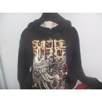 Blusa De Moleton (banda De Rock) Suicide Silence
