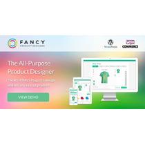 Fancy Product Designer 3.8.0 Woocommerce/wordpress Plugin