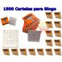 Cartela Bingo 1500 Cartelas Para Bingo Coloridas Jornal