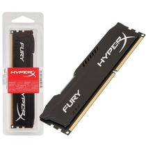 Memória Gamer 8gb Ddr3 1600mhz Kingston Hyperx Fury Black