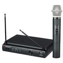 Microfone Sem Fio Karsect Mão Kru 301 Uhf Profissional