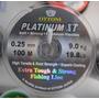 Linha Platinum Xt Ottoni 0.25mm 100 Metros