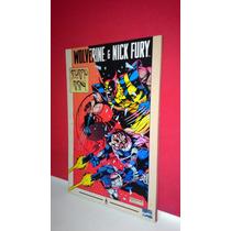 Hq- Marvel Comics Wolverine E Nick Fury Scorpio Rising/1994