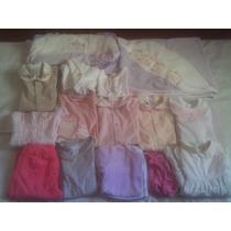 Enxoval 15 Peças Usadas Bebê Meninas Tam. Rn, P, M Beth Bebe