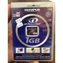 Cartão De Memória Olympus Xd Original Lacrado 1gb Frete Grat