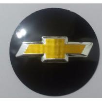 Emblema Para Volante Gm Chevrolet - Preto