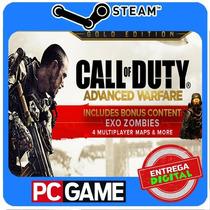 Call Of Duty Advanced Warfare Gold Edition Pc Steam Cd-key