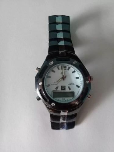 d71820272cc Relógio Potenzia Digital analógico C defeito Preto