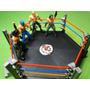 04 Bonecos Arena Ufc Mma Luta Livre Boxe Octogono Ringue