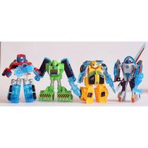 Coleção Transformers Rescue Bots 4 Personagens