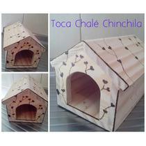 Casa Chalé Para Chinchilas E Porquinhos Da India
