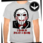 Camiseta Jogos Mortais Saw Baby Look Filme Terror Camisa