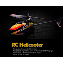 Helicoptero V911 Completo 4ch - Controle 2.4ghz - Promoção