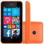 Nokia Lumia 530 Laranja Dual Chip Windows 8.1 4gb Gps 5mp