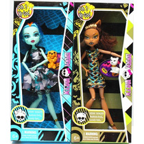 Boneca Monster Dark Articulada Como Monster High