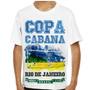Camiseta Brasil Copa Copacabana Infantil