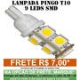 Pingo T10 9 Leds Smd 5050 - Unidade