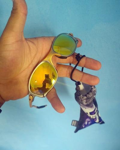 5525b74a6 Oculos Oakley Double X 24k Lente Original Juliet
