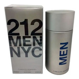 Perfume 212 Nyc Men Edt 200ml, Original, Nf, + 2 Amostras