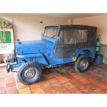 Jeep Willys Cj3b - Modêlo 1954